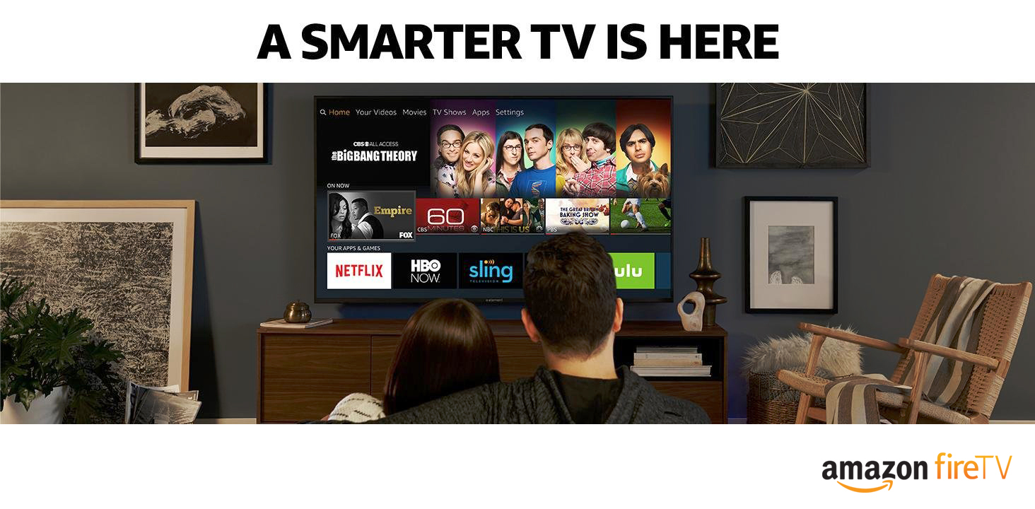 Amazon Fire TV advertisement