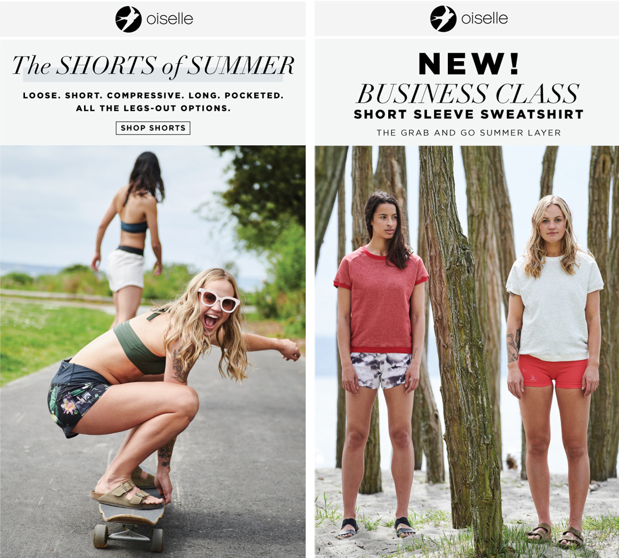 Oiselle spring advertising campaign photography by Amos Morgan Photo + Video