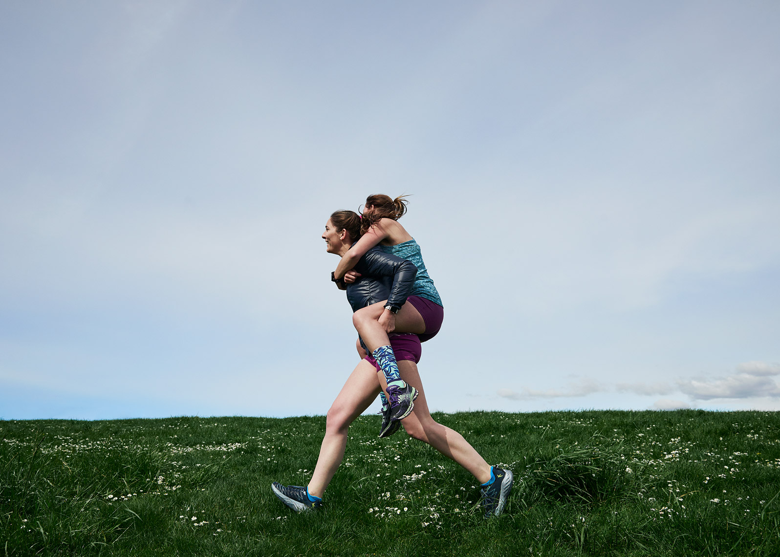 Brand photo shoot  for Oiselle