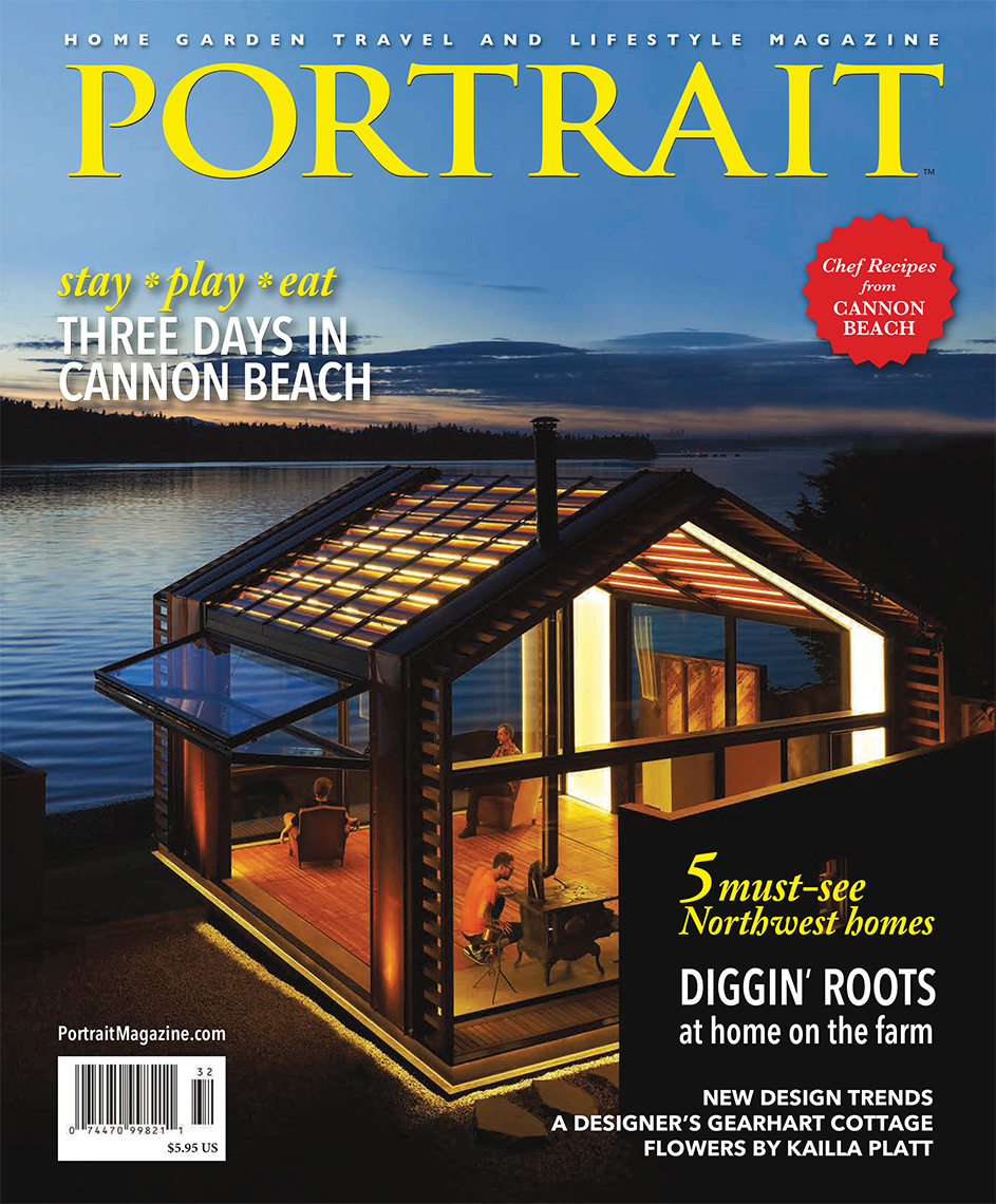 Featured photos in Portrait Magazine for Greypant