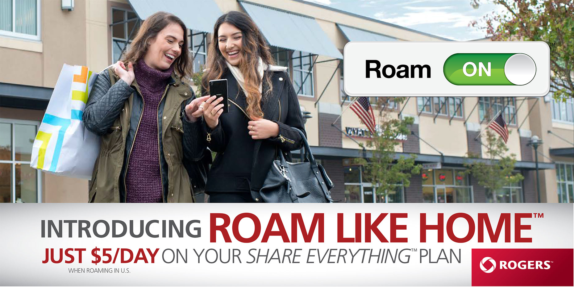 Rogers print advertising campaign featured photo